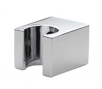 Houder vierkant chroom voor handddouche