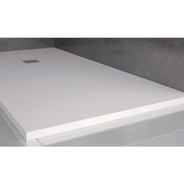 Composiet douchebak Solid Eco 100x120cm wit