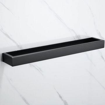 Handdoekhouder Cubic 40cm mat zwart