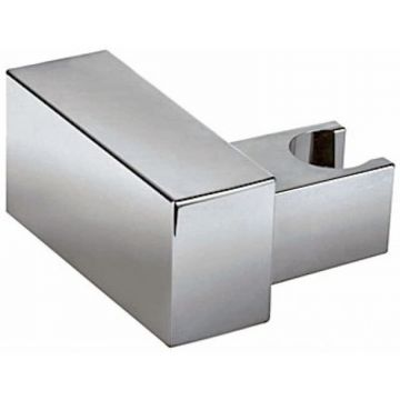 Kantelbare houder CUADRO voor handdouche vierkant chroom