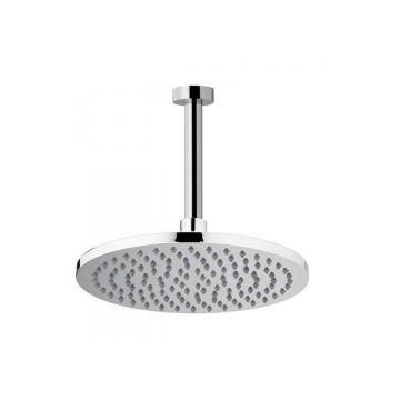 Hoofddouche ø20cm chroom inclusief plafondaansluiting