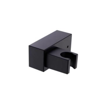 Kantelbare handdouche houder Zen vierkant mat zwart